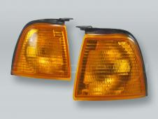 TYC Amber Corner Lights Parking Lamps PAIR fits 1988-1995 AUDI 80 90