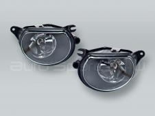 TYC Fog Lights Driving Lamps Assy with bulbs PAIR fits 2006-2008 AUDI A3