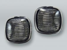 Smoke Fender Side Marker Turn Signal Lights PAIR fits 1996-1998 AUDI A4