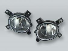 TYC Fog Lights Driving Lamps Assy with bulbs PAIR fits 2006-2008 AUDI A4 S4