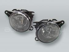TYC 2.7L 3.0L Fog Lights Driving Lamps Assy with bulbs PAIR fits 2002-2004 AUDI A6