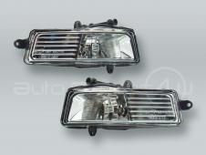 TYC Fog Lights Driving Lamps Assy with bulbs PAIR fits 2009-2011 AUDI A6