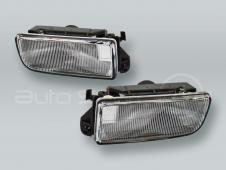TYC Fog Lights Driving Lamps Assy with bulbs PAIR fits 1992-1998 BMW 3-Series E36