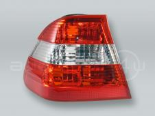 Red/White SEDAN Outer Tail Light Rear Lamp LEFT fits 2002-2005 BMW 3-Series E46