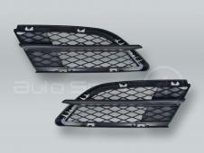 Front Bumper Lower Side Grille PAIR fits 2009-2011 BMW 3-Series E90 E91