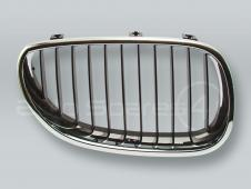 Chrome/Black Front Grille RIGHT fits 2004-2009 BMW 5-Series E60 E61