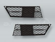 Front Bumper Lower Side Grille PAIR fits 2008-2009 BMW 5-Series E60 E61