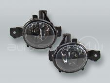 TYC Fog Lights Driving Lamps Assy with bulbs PAIR fits 2007-2010 BMW X3 X5