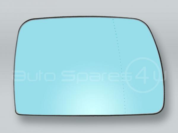 BMW X5 E53 2000-2006 HEATED DOOR MIRROR GLASS ASPHERIC BLUE RIGHT