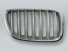 Chrome/Titan Front Hood Grille RIGHT fits 2005-2006 BMW X5 E53
