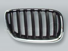 Chrome/Black Front Hood Grille RIGHT fits 2005-2006 BMW X5 E53