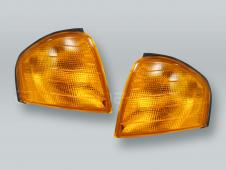 Amber Corner Lights Parking Lamps PAIR fits 1994-2000 MB C-Class W202