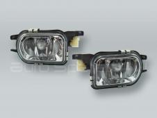 TYC Fog Lights Driving Lamps Assy with bulbs PAIR fits 2005-2007 MB C-Class W203 4-DOOR