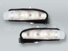 Door Mirror Turn Signal Lamps Lights PAIR fits 2001-2004 MB C-Class W203