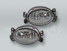 TYC Fog Lights Driving Lamps Assy with bulbs PAIR fits 2006-2009 MB CLK W209