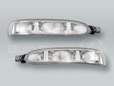 ULO Door Mirror Turn Signal Lamps Lights PAIR fits 2003-2009 MB CLK W209