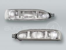 TYC Door Mirror Turn Signal Lamps Lights PAIR fits 2003-2009 MB CLK W209