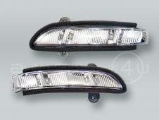 Door Mirror Turn Signal Lamps Lights PAIR fits 2006-2008 MB CLS-Class W219