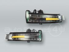 Door Mirror Turn Signal Lamps Lights PAIR fits MB CL CLS GLK B W216 W218 X204