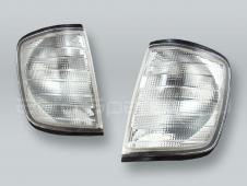 TYC Clear Corner Lights Parking Lamps PAIR fits 1988-1995 MB E-Class W124