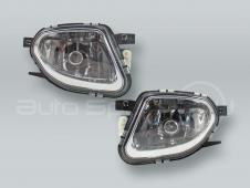 TYC Fog Lights Driving Lamps Assy with bulbs PAIR fits 2003-2005 MB E-class W211