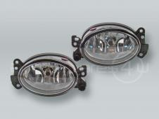 TYC Fog Lights Driving Lamps Assy with bulbs PAIR fits 2006-2010 MB R-class W251