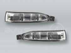 Door Mirror Turn Signal Lamps Lights PAIR fits 2006-2010 MB R-class W251