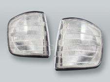 TYC Clear Corner Lights Parking Lamps PAIR fits 1981-1991 MB S-Class W126 4-DOOR