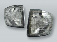 TYC Smoke Corner Lights Parking Lamps PAIR fits 1981-1991 MB S-Class W126 2-DOOR