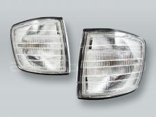 TYC Clear Corner Lights Parking Lamps PAIR fits 1981-1991 MB S-Class W126 2-DOOR