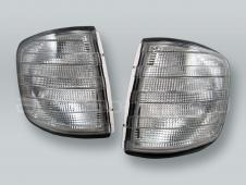 TYC Smoke Corner Lights Parking Lamps PAIR fits 1981-1991 MB S-Class W126 4-DOOR