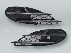 Front Bumper Lower Side Grille PAIR fits 2003-2006 MB S-Class W220