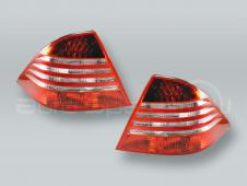 Tail Lights Rear Lamps PAIR fits 2000-2006 MB S-Class W220