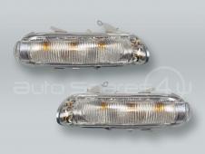 ULO (OEM) Door Mirror Turn Signal Lamps Lights PAIR fits 2001-2004 MB SLK R170