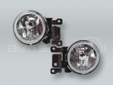 Fog Lights Driving Lamps Assy with bulbs PAIR fits 2000-2004 MITSUBISHI Montero Sport