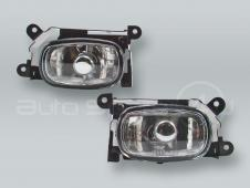 Fog Lights Driving Lamps Assy with bulbs PAIR fits 2003-2006 MITSUBISHI Outlander