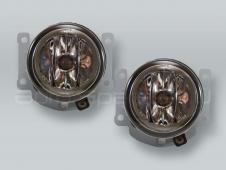 Fog Lights Driving Lamps Assy with bulbs PAIR fits 2010-2015 MITSUBISHI Outlander