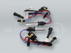 M-TECH H1 6000K (Diamond White) XENON HID Headlight Conversion Light Bulbs PAIR