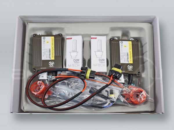 M-TECH CANBUS PRO D2R 6000K (Diamond White) Xenon Headlight Conversion Kit