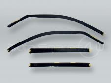 HEKO Wind Deflectors Rain Guards 4pcs Set fits 2007-2013 BMW X5 E70