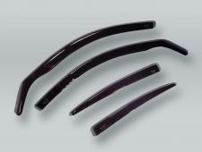 HEKO SEDAN Wind Deflectors Rain Guards 4pcs Set fits 1992-1997 AUDI 100 A6