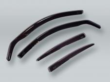 HEKO SEDAN Wind Deflectors Rain Guards 4pcs Set fits 2005-2011 AUDI A6 S6