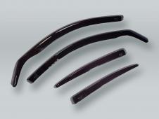 HEKO WAGON Wind Deflectors Rain Guards 4pcs Set fits 2005-2011 AUDI A6