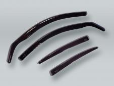 HEKO WAGON Wind Deflectors Rain Guards 4pcs Set fits 1996-2003 BMW 5-Series E39