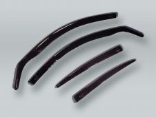 HEKO WAGON Wind Deflectors Rain Guards 4pcs Set fits 1998-2005 VW Passat