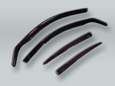 HEKO SEDAN Wind Deflectors Rain Guards 4pcs Set fits 2001-2009 VOLVO S60