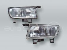 TYC Fog Lights Driving Lamps Assy with bulbs PAIR fits 1998-2002 SAAB 9-3
