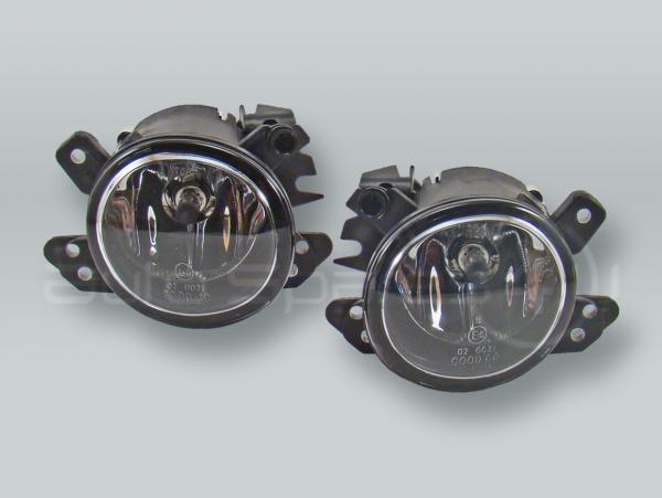 Fog Lights Driving Lamps Assy with bulbs PAIR fits 2008-2012 SMART Fortwo W451