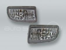 DEPO Fog Lights Driving Lamps Assy with bulbs PAIR fits 1998-2005 TOYOTA Land Cruiser 100