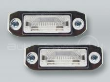 31253006 Rear License Lamps PAIR fits VOLVO C70 S40 S60 S80 V50 V70 XC60 XC90